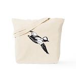 Bufflehead Sketch Tote Bag