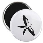 Scissor-tailed Kite Cartoon Magnet