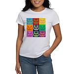 Pop Art Owl Face Women's T-Shirt