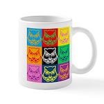 Pop Art Owl Face Mug