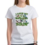 I Love My Backyard Birds Women's T-Shirt