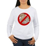 Anti-Squirrel Women's Long Sleeve T-Shirt