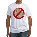 Anti-Squirrel Fitted T-Shirt