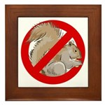 Anti-Squirrel Framed Tile