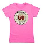 Lifelist Club - 50 Girl's Tee