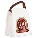 Lifelist Club - 100 Canvas Lunch Bag