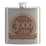 Lifelist Club - 3000 Flask