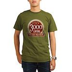 Lifelist Club - 3000 Organic Men's T-Shirt (dark)