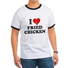 I Love [Heart] Fried Chicken Ringer T