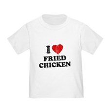 I Love [Heart] Fried Chicken Toddler T-Shir