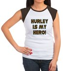 Hurley is My Hero Women's Cap Sleeve T-Shirt