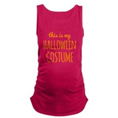 This is My Halloween Costume Maternity Tank Top