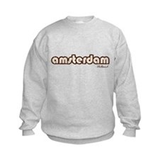 Amsterdam Holland (Vintage) Kids Sweatshirt