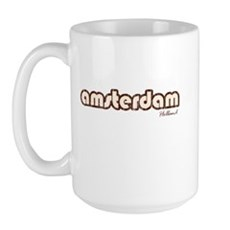 Amsterdam Holland (Vintage) Large Mug