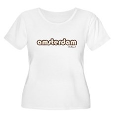 Amsterdam Holland (Vintage) Womens Plus Size Scoo