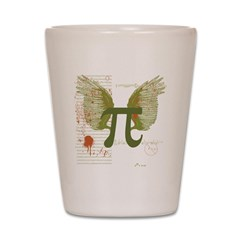 Pi Art Shot Glass
