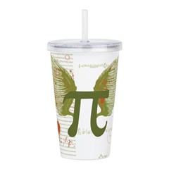 Pi Art Acrylic Double-wall Tumbler