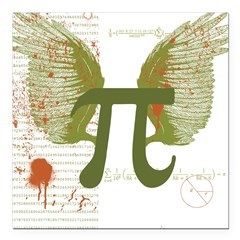 Pi Art Square Car Magnet 3