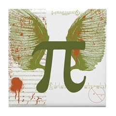 Pi Art Tile Coaster