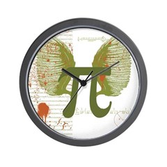 Pi Art Wall Clock