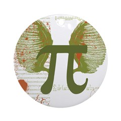 Pi Art Ornament (Round)