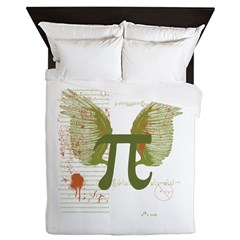Pi Art Queen Duvet