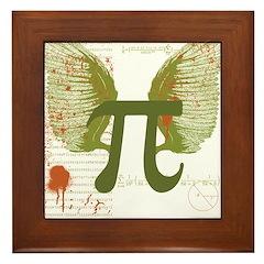 Pi Art Framed Tile