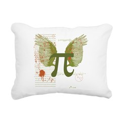 Pi Art Rectangular Canvas Pillow