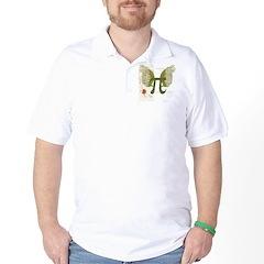 Pi Art Golf Shirt