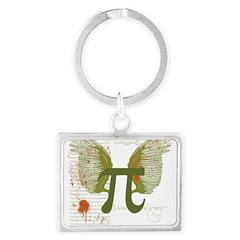 Pi Art Keychains