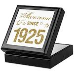 Awesome Since 1925 Keepsake Box