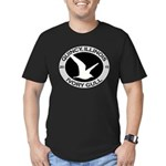 Ivory Gull 2015 Quincy Men's Fitted T-Shirt (dark)