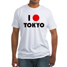 I Heart [Love] Tokyo Fitted T-Shirt