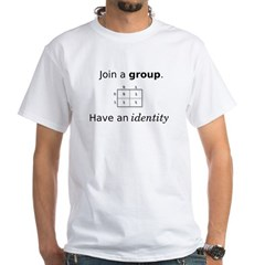 Group Identity White T-Shirt