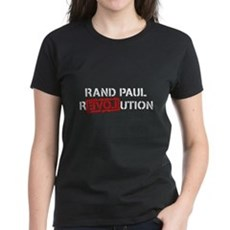 Rand Paul Revolution Womens T-Shirt