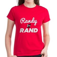 Randy for Rand Womens T-Shirt