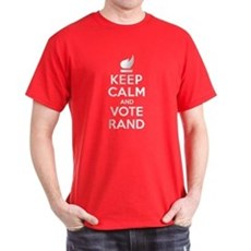 Keep Calm and Vote Rand T-Shirt