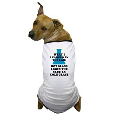 Lab Glass Dog T-Shirt