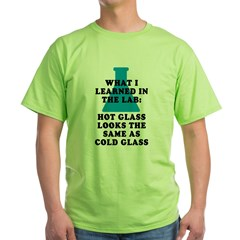Lab Glass Green T-Shirt