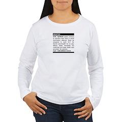 Evil Genius Personal Ad Women's Long Sleeve T-Shir