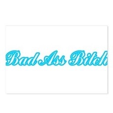 Bad Ass Bitch Postcards (Package of 8)