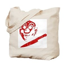 Michael Myers Clown Mask Tote Bag