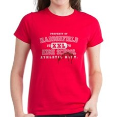 Property of Haddonfield High Womens T-Shirt