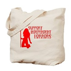 Support Independent Horrors Tote Bag