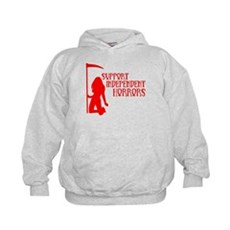 Support Independent Horrors Kids Hoodie