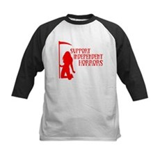 Support Independent Horrors Kids Baseball Jersey