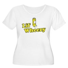 Lil' Wheezy Plus Size Scoop Neck Shirt