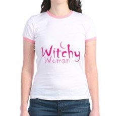 Witchy Woman Jr Ringer T-Shirt