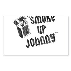 Smoke Up Johnny Rectangle Sticker