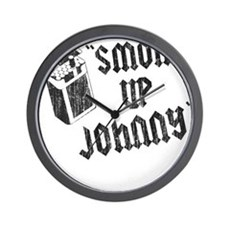 Smoke Up Johnny Wall Clock